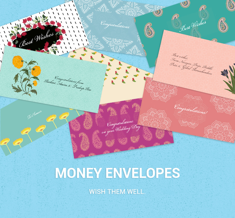 Money Envelope Personalised Personal Stationery