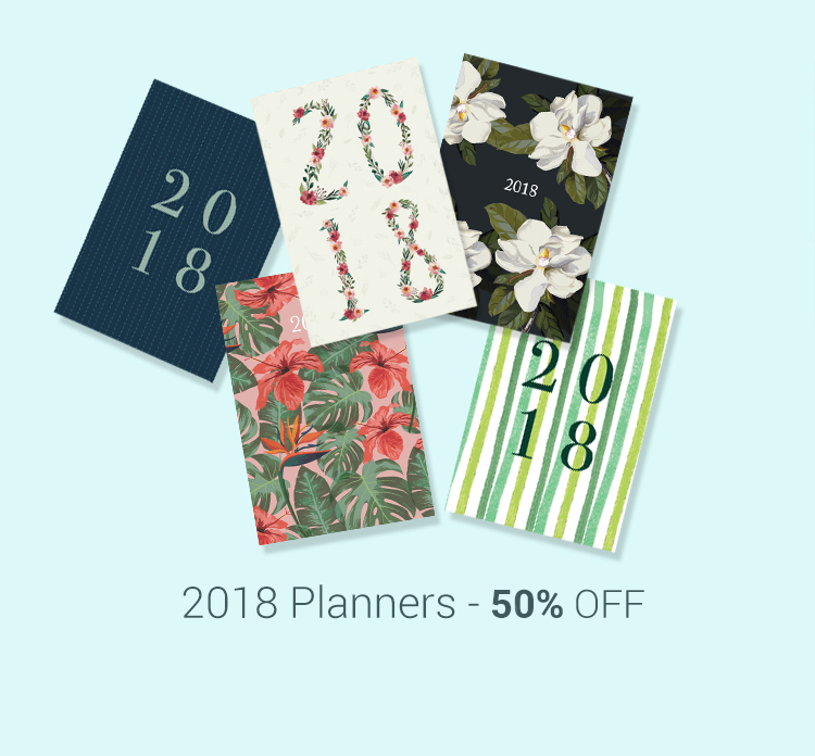 2018 PLANNERS & CALENDARS