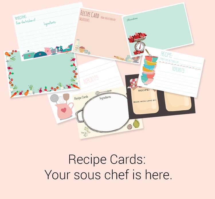 RECIPE CARD SETS
