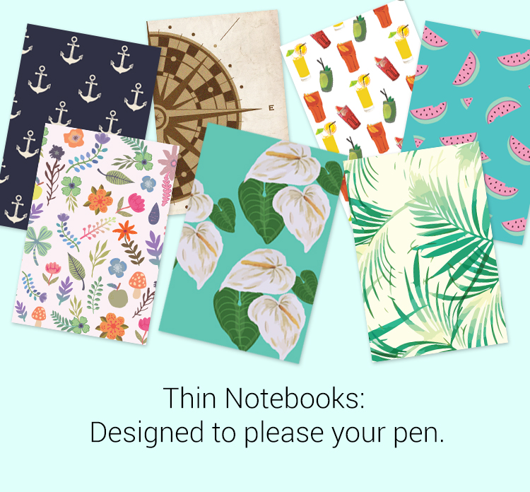 THIN NOTEBOOK (SET OF 2)