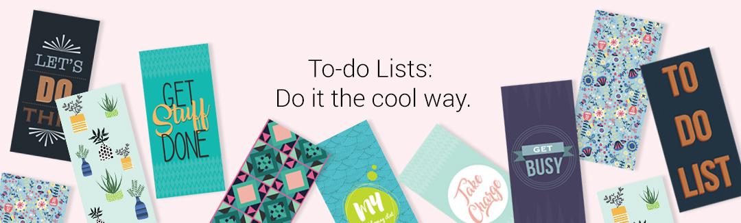 TO-DO LISTS